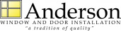 Anderson Window Installation Logo